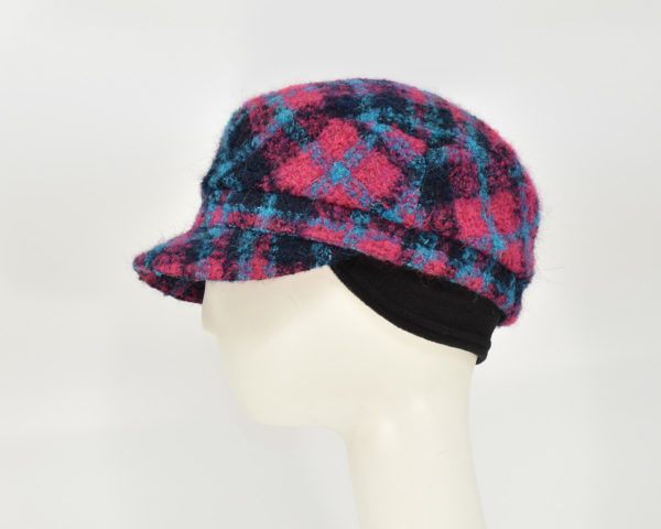 London: Perry - Plaid (Side View Ear Cuff)