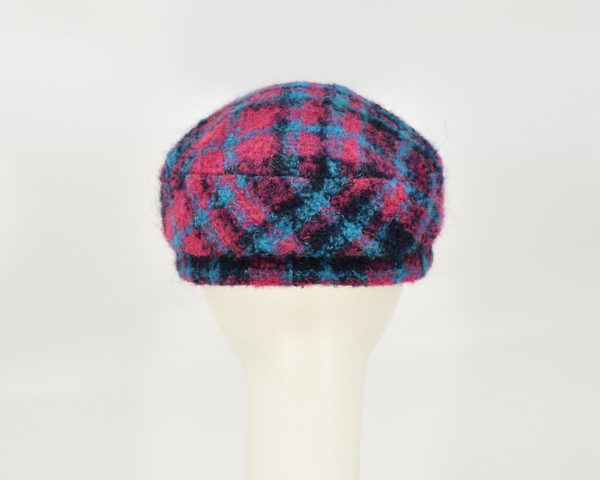 London: Perry - Plaid (Back View)
