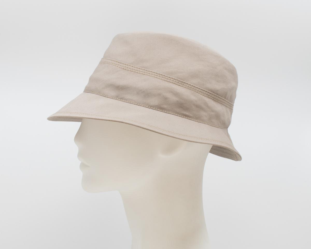 Gabriola: Dakota - Taupe (Mens) (Side View)