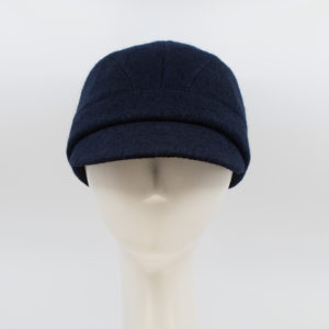 Boiled Wool: Casey - Navy