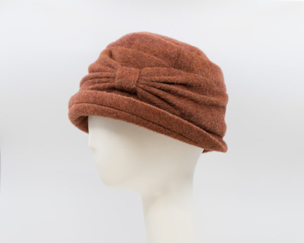 Mohair: Jeanette - Copper (Side View)