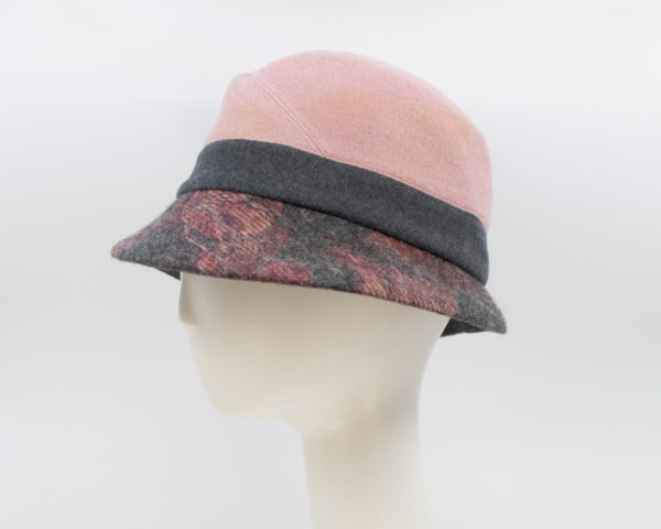 Tailor Made: Alexa - Blush/Print (Side View)