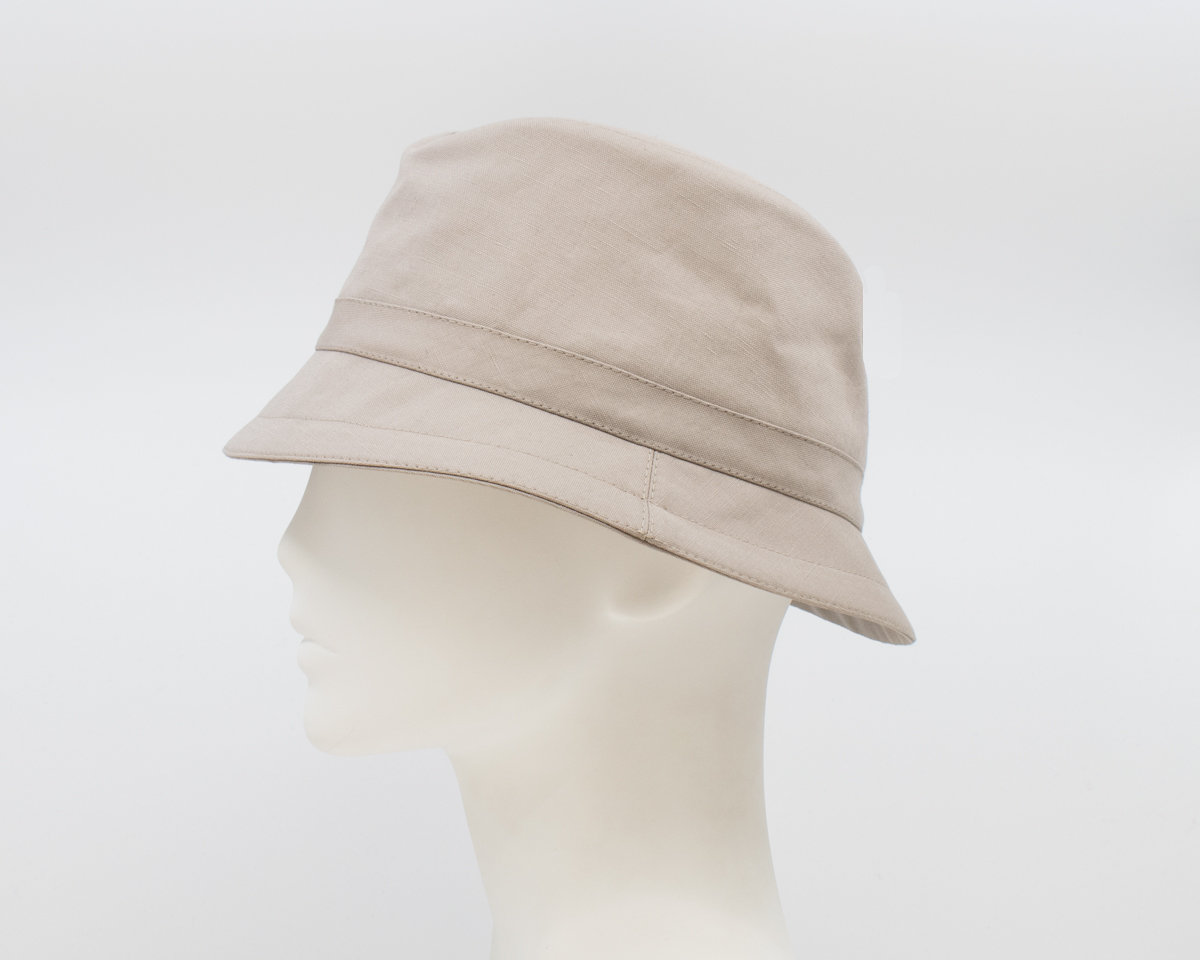 Gabriola: Marlo - Taupe (Mens) (Side View)